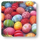 Podložka sada 6ks - Colourful eggs